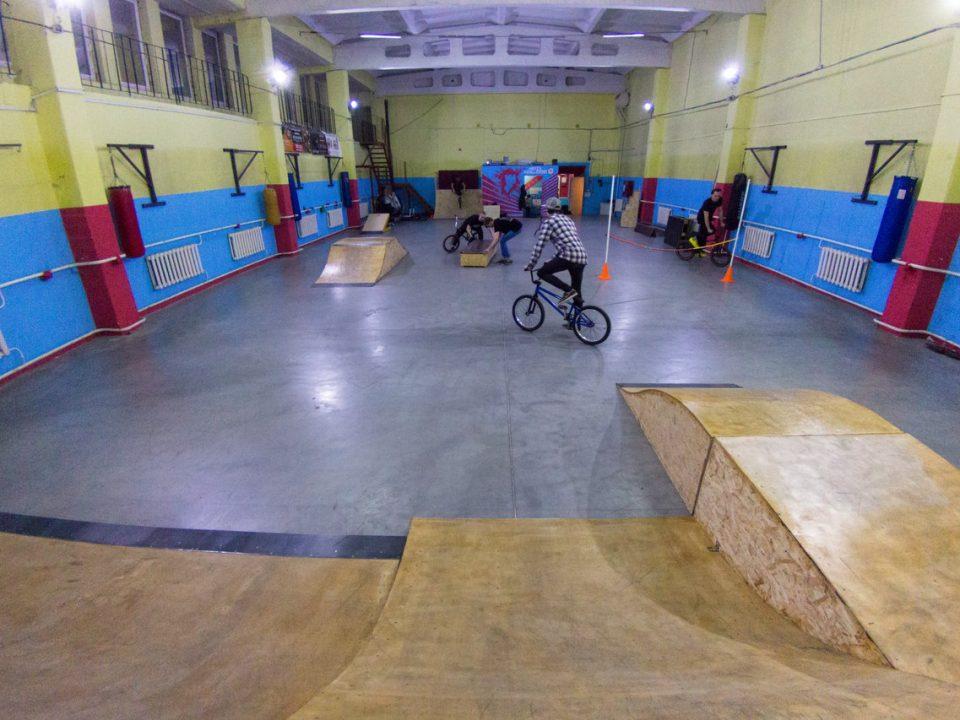 Первая BMX-школа в Калининграде
